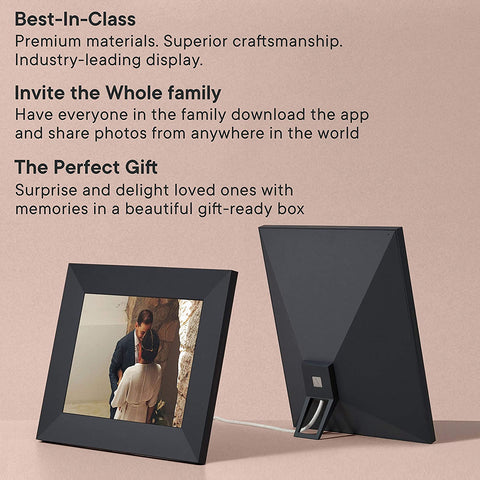 "Aura Frames | Sawyer 9.7"" HD WiFi Picture Frame"