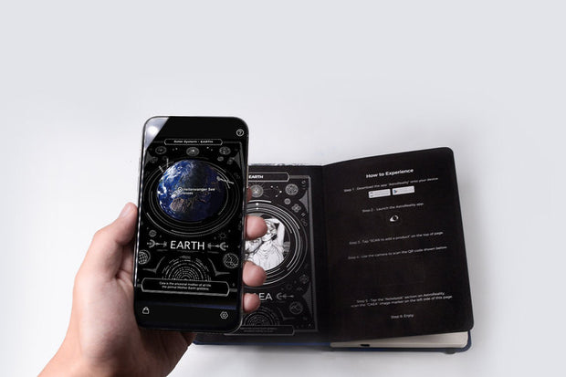 AstroReality | EARTH AR Notebook