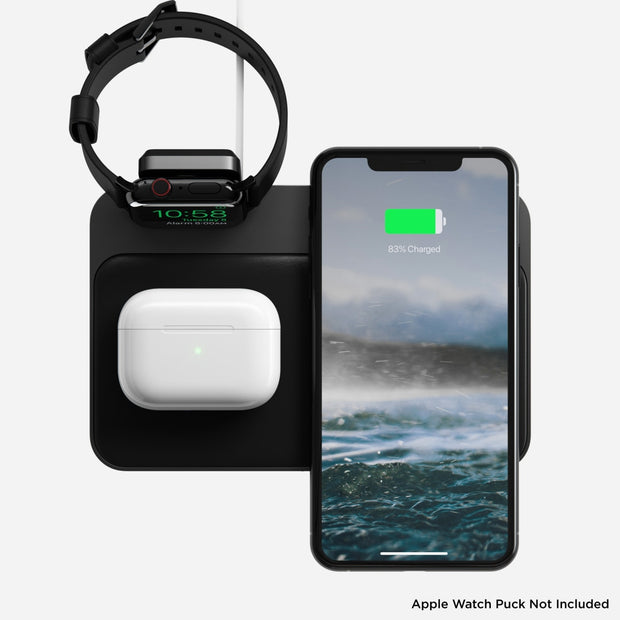 Nomad Base Station Hub with Apple Watch Charging Mount