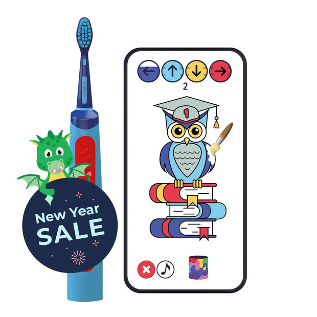 Playbrush Smart Sonic | Electric Toothbrush for Kids 6+