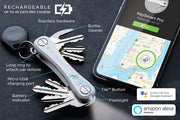KeySmart Pro | Compact Key Holder with Tile