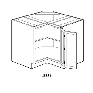 "Ready-to-Assemble Shaker Base Cabinet (36""w x 34.5""h x 24""d)"