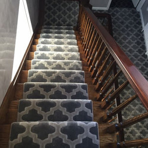 Montaza Grey Stairs Example