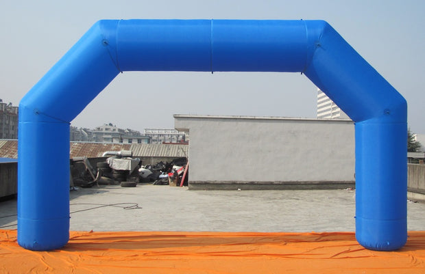 Small Inflatable Blue Arch - 6m x 3.5m