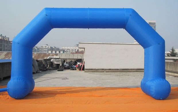 Small Inflatable Arch with Legs - 6m x 3.5m - BLUE