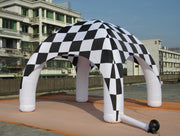 Small CHECKERED Inflatable Tent - 6m x 3.5m