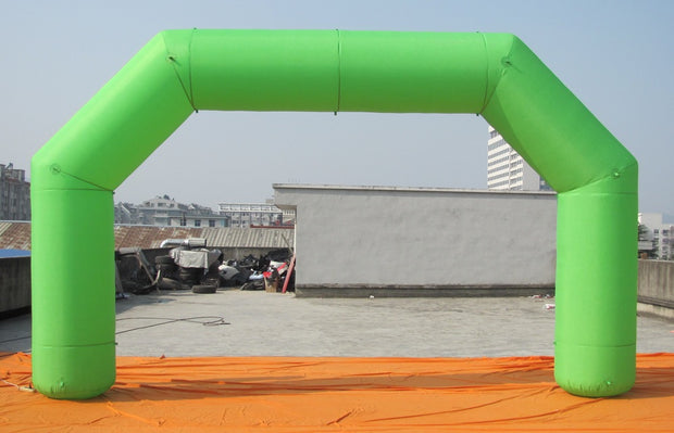 Small Inflatable Green Arch - 16' x 9.5'