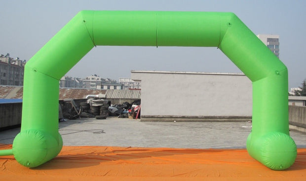 Small Inflatable Arch with Legs - 6m x 3.5m - GREEN