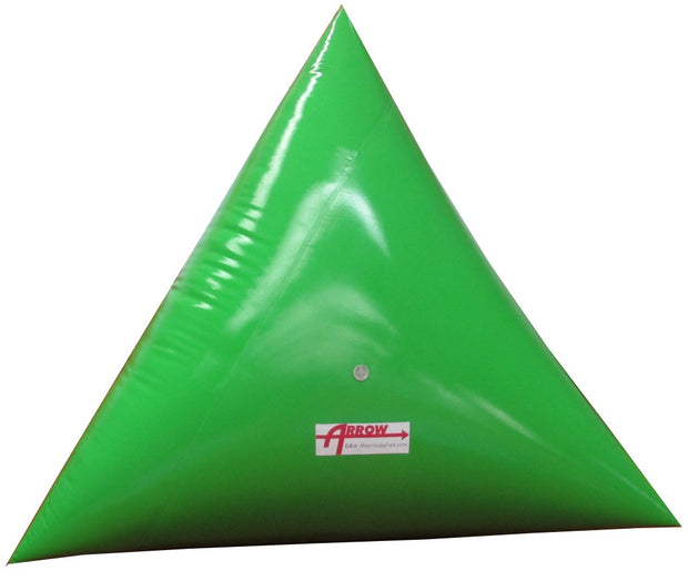 Premium 5' Triangle Swim Marker Buoy - GREEN