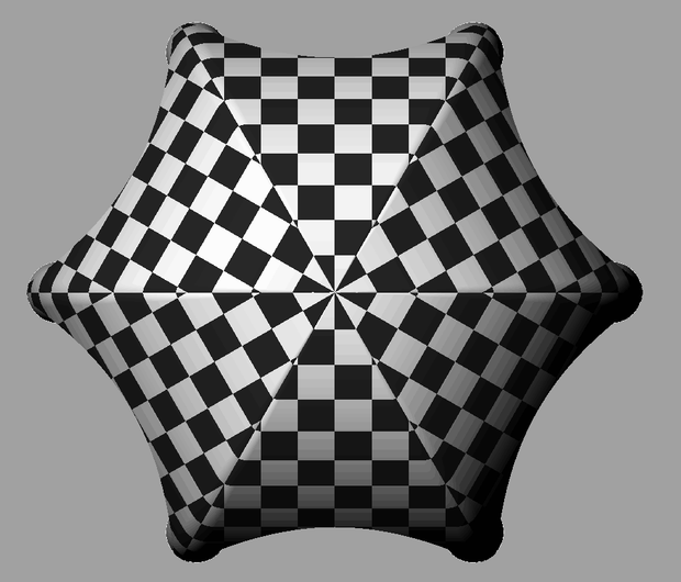 Large CHECKERED Inflatable Tent - 12m x 6m
