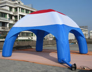 Small RED-WHITE-BLUE Inflatable Tent - 6m x 3.5m