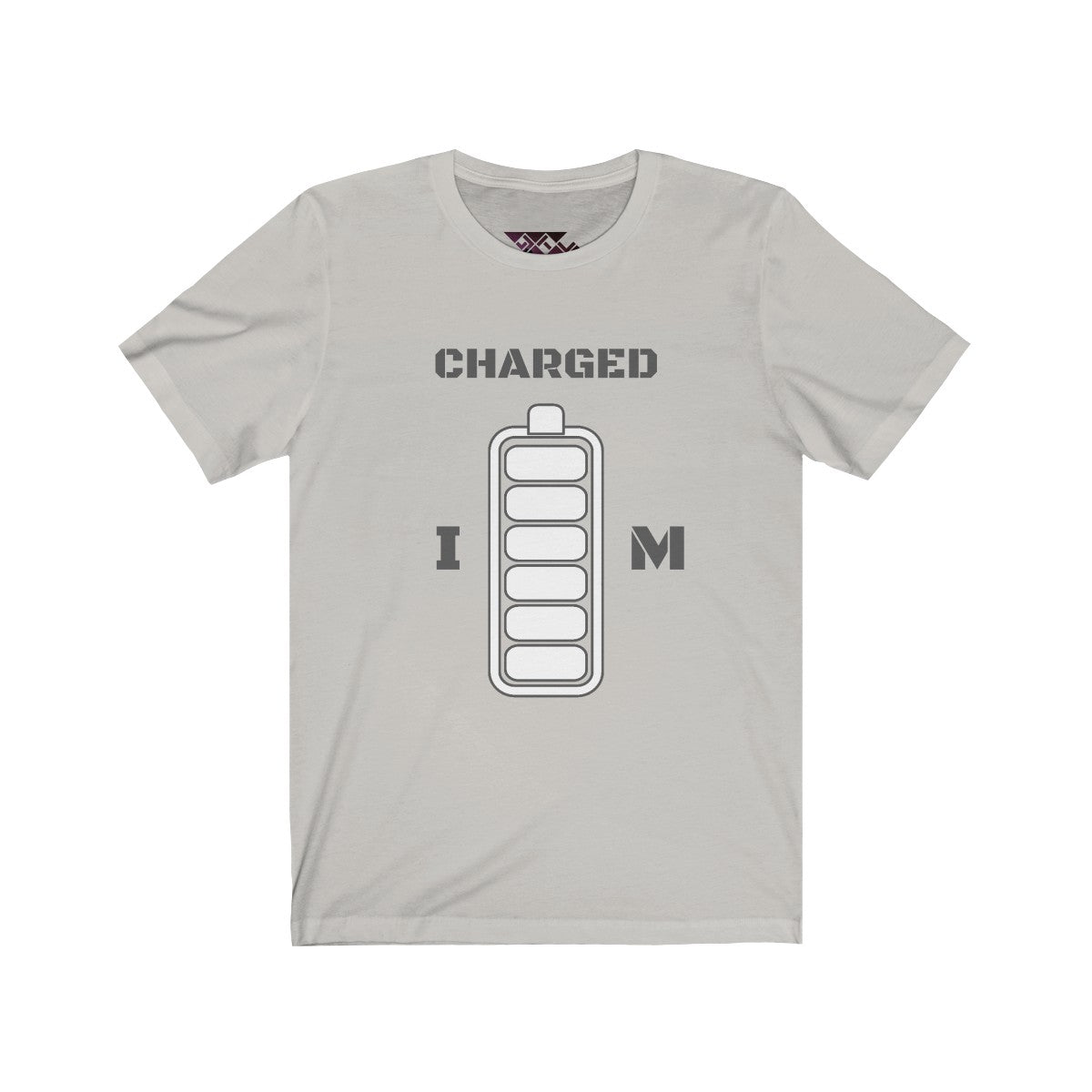 I M CHARGED Unisex Jersey Short Sleeve Tee