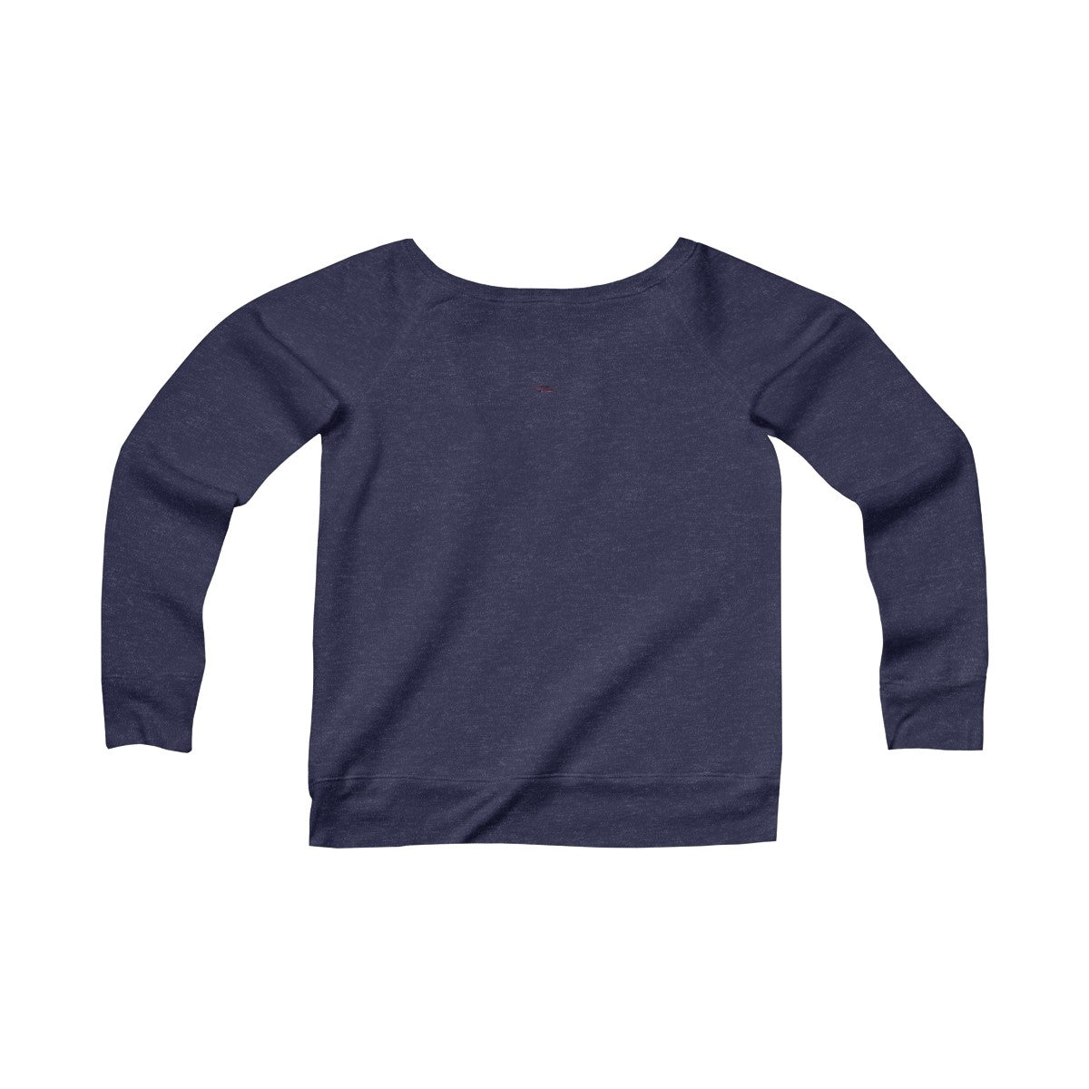 Women's Sponge Fleece Wide Neck Sweatshirt