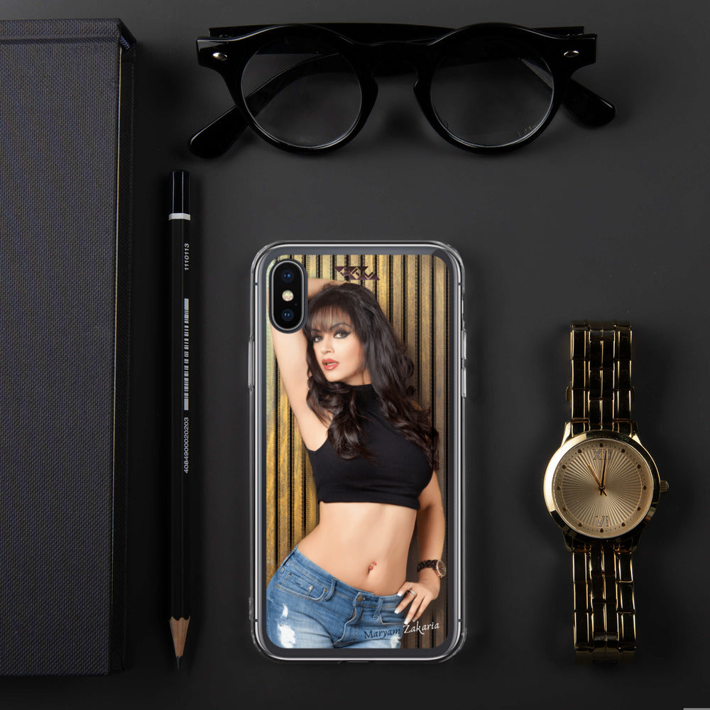 Maryam Zakaria Exclusive iPhone Case