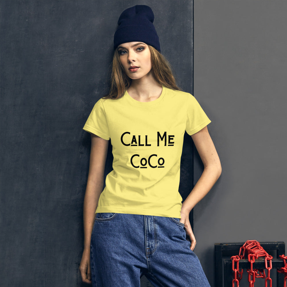 Call Me CoCo Women's short sleeve t-shirt