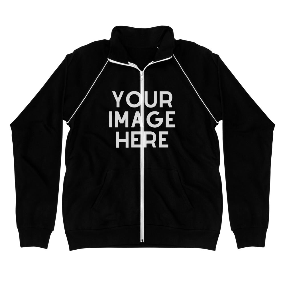 Design Your Own Piped Fleece Jacket
