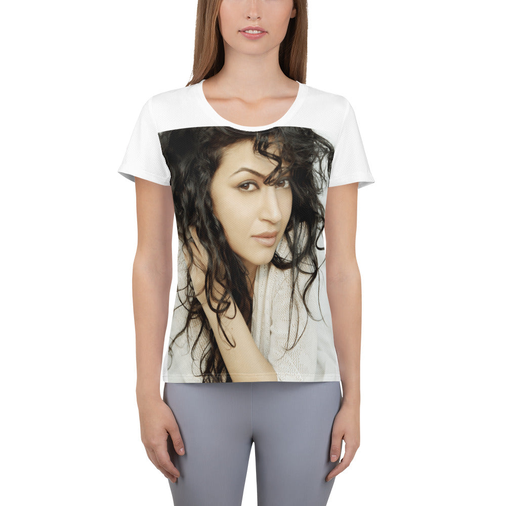 Maryam Zakaria's Women's Athletic T-shirt