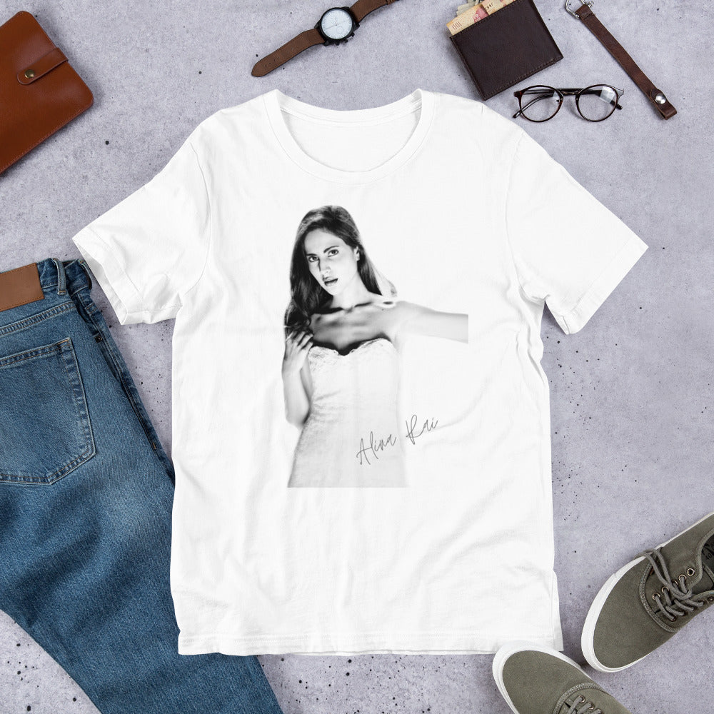 Featuring Alina Rai Short-Sleeve Unisex T-Shirt