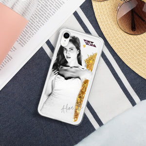 Featuring Alina Rai Liquid Glitter iPhone Case