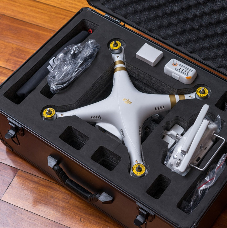 DJI phantom 3 standard protective suitcase Custom aluminum case Especially custom for DJI 3 case 550*370*230MM