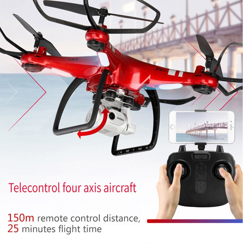 XY4 RC Quadcopter With 720p/1080P Wifi FPV Camera 20-25min Flying Time Professional Drone