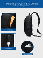 Multifunction Crossbody Anti-theft Shoulder Messenger Waterproof Chest Bag Pack