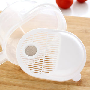 Multi-functional Wash rice device manual drainer strainer  Cleaning Rice Bean Sieve Hands-free kitchen supplies cooking tool