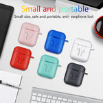 For AirPods Case Protective Silicone Cover Case Shockproof Earpods Case for Apple Headphone for Airpod Case Charger Accessories