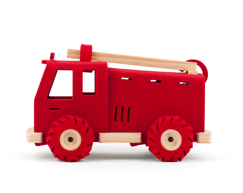 Brave Dave the Fire Engine - Woolkin