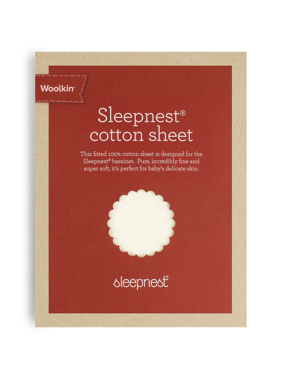 Sleepnest™ Cotton Sheet - Woolkin