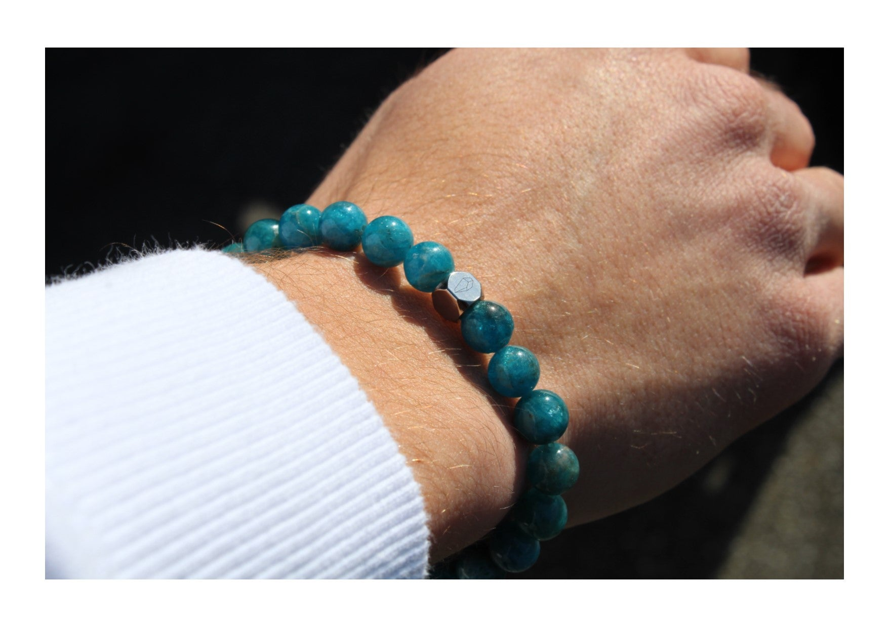 Apatite Bracelet 8mm - www.purestone.be