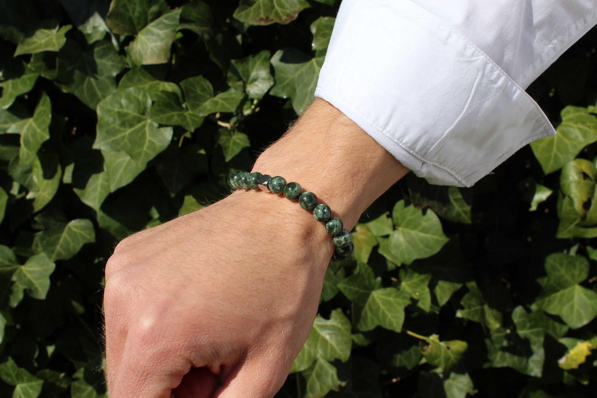 Seraphinite Bracelet 8mm - www.purestone.be