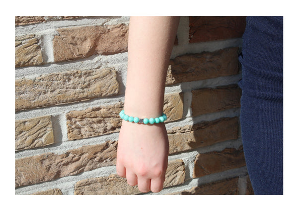 Brazilian Amazonite Bracelet Wrist Woman - www.purestone.be
