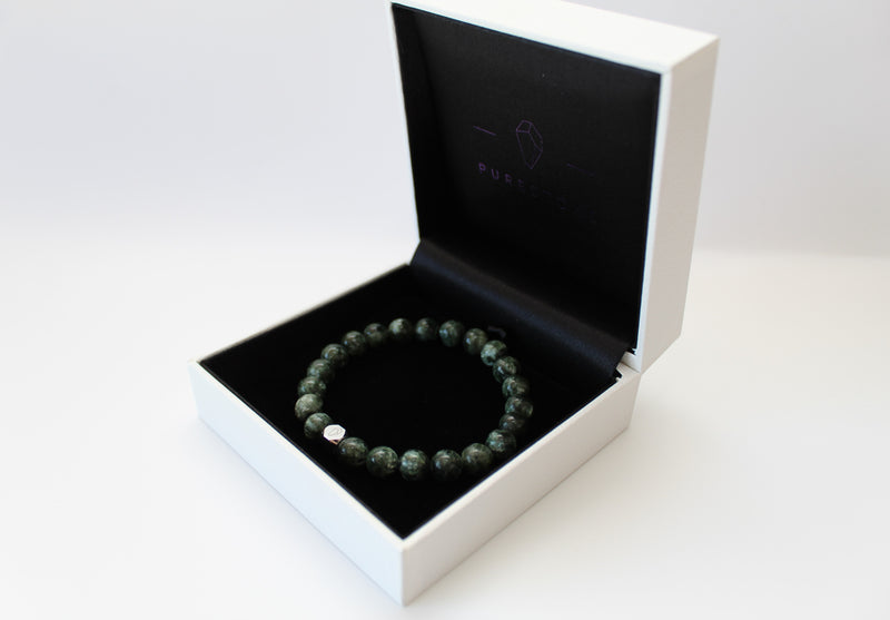 Seraphinite Bracelet 8mm Box - www.purestone.be