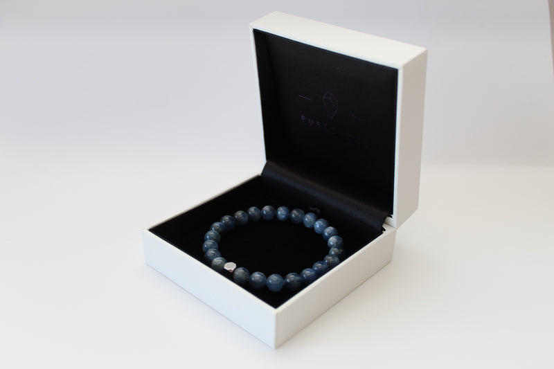 Kyanite Bracelet 8mm Box - www.purestone.be