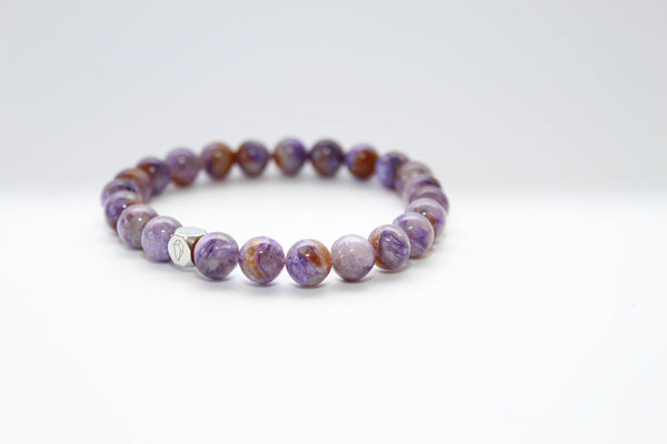 Charoite Light Bracelet 8mm - www.purestone.be