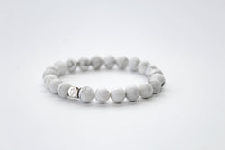 Howlite Bracelet 8mm - www.purestone.be