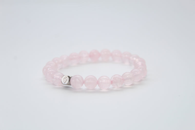 Rose Quartz Bracelet 8mm - www.purestone.be