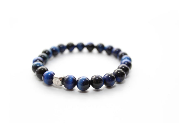 Tiger's Eye Blue Bracelet 8mm - www.purestone.be