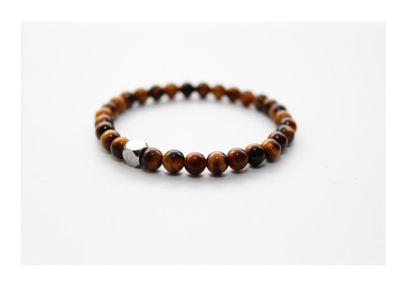 Brown Tiger's Eye Bracelet 6mm