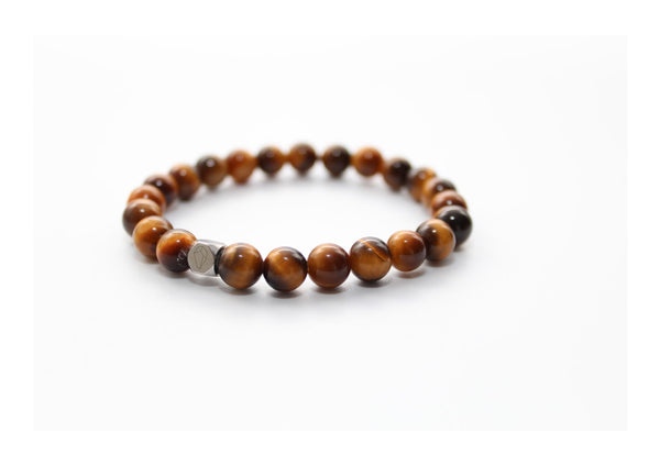 Tiger's Eye Bracelet 8mm - www.purestone.be