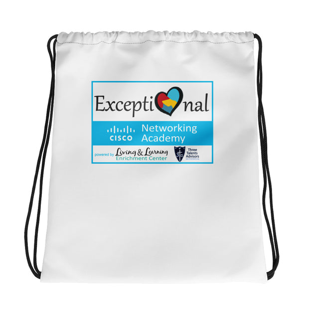 Exceptional Academy Drawstring Bag