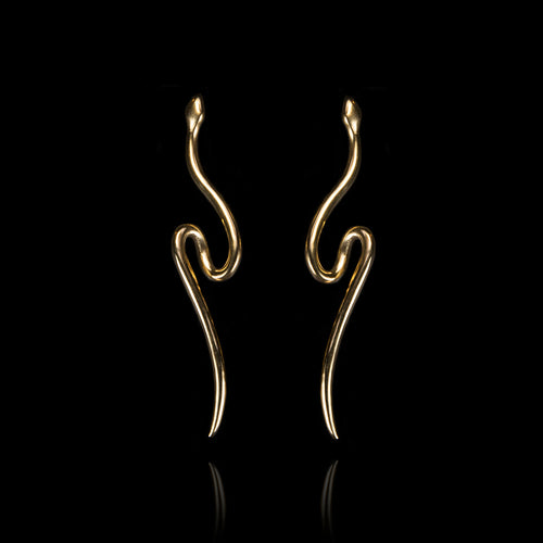 Snake Earrings - Ofis Collection / Ancient Greek Jewelry & Art