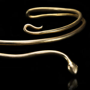 Entwined Snake Necklace - Ancient Greek inspired Art