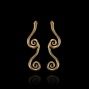 Iconic Aegean Earrings - Aegean Collection / Ancient Greek Jewelry & Art