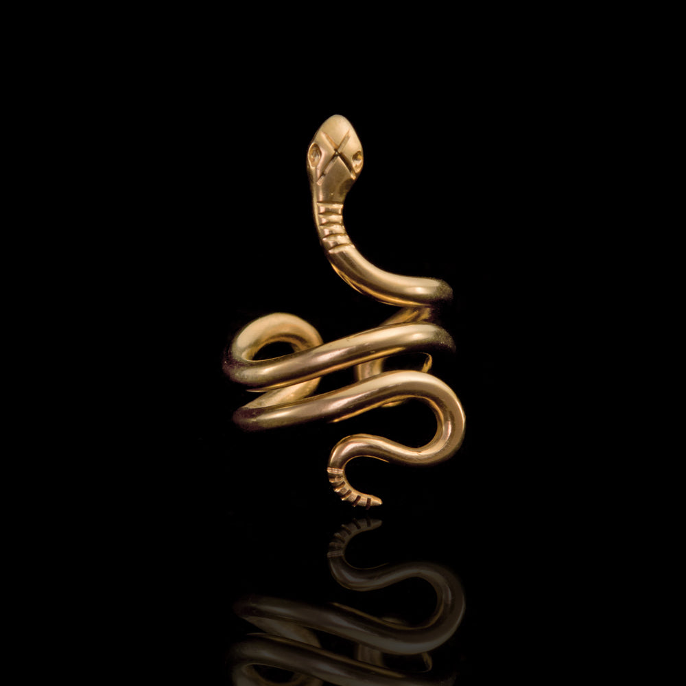Classic Snake Ring  - Ofis Collection / Ancient Greek Jewelry & Art