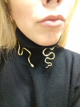 Load image into Gallery viewer, Grandiose Snake Necklace - Ofis Collection / Ancient Greek inspired Art
