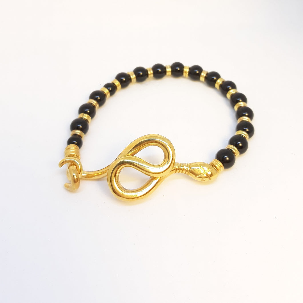 Onys Snake Bracelet - Ofis Collection / Ancient Greek Jewelry & Art