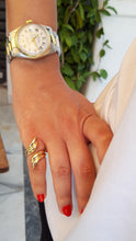 Load image into Gallery viewer, Angel Wings Ring- Gold-plated Brass Symbols Collection