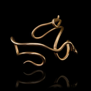 Double Snake Bracelet - Ofis Collection / Ancient Greek Jewelry & Art